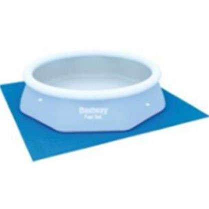 Подложка под бассейн 274x274 см полиэтилен цвет голубой