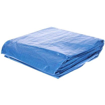 Подложка под бассейн 396x396 см полиэтилен цвет голубой