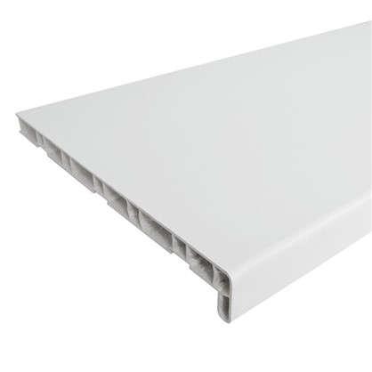 Подоконник ПВХ 2000х300 мм цвет белый цена