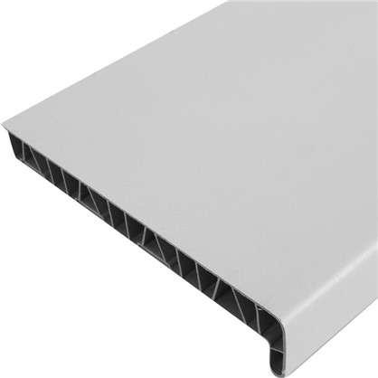 Подоконник пластиковый 200x1500 мм цвет белый цена