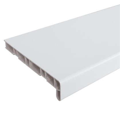 Подоконник ПВХ 3000х200 мм цвет белый