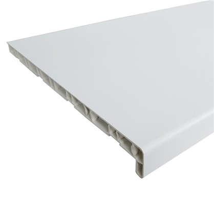 Подоконник пластиковый 3000х400 мм цвет белый
