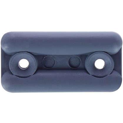 Подпятник прямоугольный 18х35 см пластик цвет серый 8 шт. цена