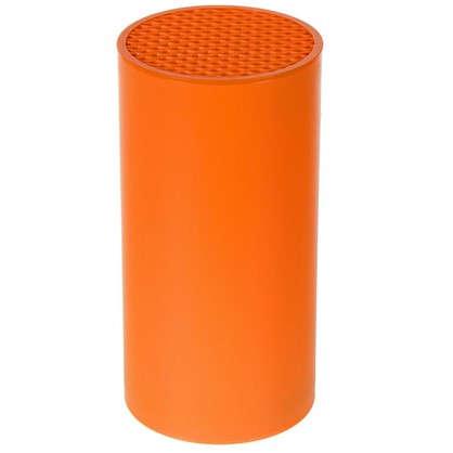 Подставка для ножей D11х22.5 мм цвет оранжевый цена