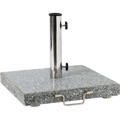Подставка под зонт гранит/нержавеющая сталь 30 кг серый цена