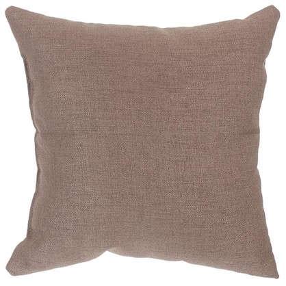 Подушка декоративная 40х40 см цвет серо-коричневый цена