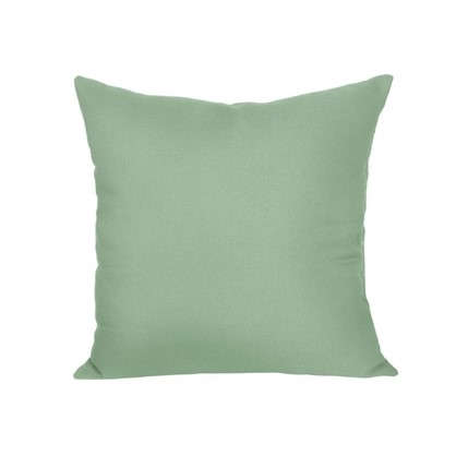 Подушка декоративная 40х40 см текстура габардин цвет зеленый цена