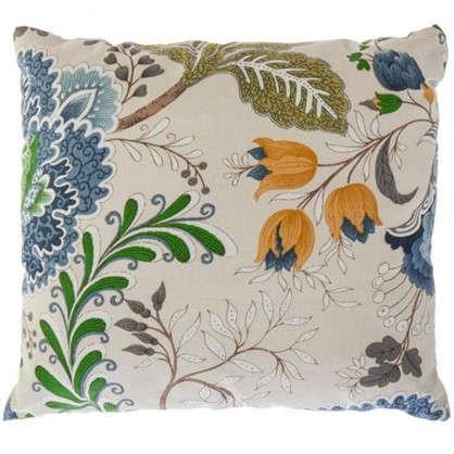 Подушка декоративная Casandra 40х40 см цвет синий цена