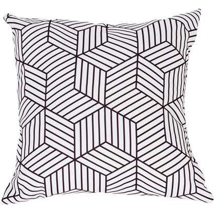Подушка декоративная Геометрия: Куб 40х40 см цена
