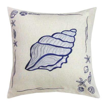 Подушка декоративная Море: Ракушка 40х40 см