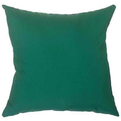 Подушка декоративная Природа 40х40 см цвет зеленый