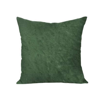 Подушка для стула Dr. Green 40х40 см плюш цвет зеленый
