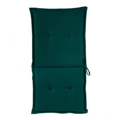 Подушка для стула голубая 92х42х5 см полиэстер цена