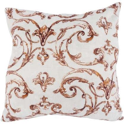 Подушка для стула Sea Foam 40х40 см плюш цвет золотой цена