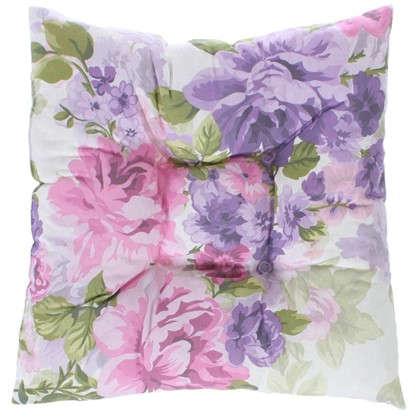 Подушка для стула Сиреневое поле 40х40 см цвет фиолетовый цена