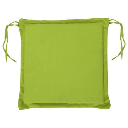 Подушка для стула зеленая 43х43 см полиэстер