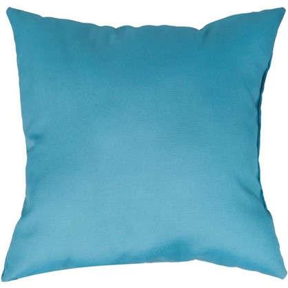 Подушка Кисти 40х40 см цвет бирюзовый цена