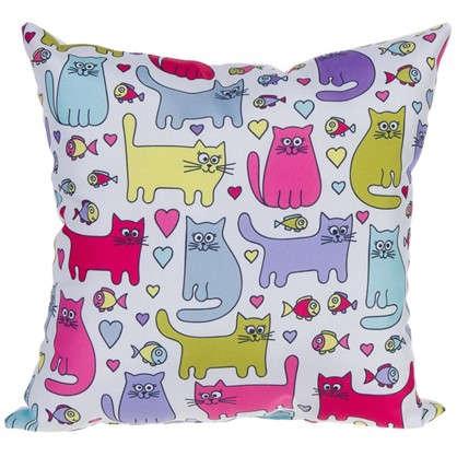 Подушка Коты 40х40 см