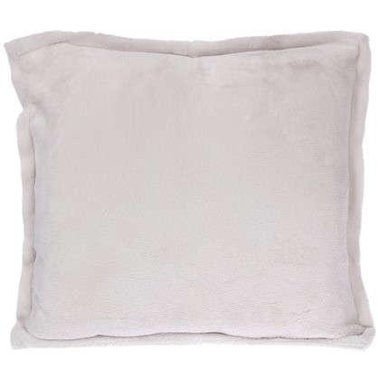 Подушка Prestige 40х40 см серо-бежевая цена