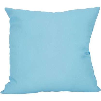 Подушка Шарм 40х40 см цвет серый/голубой цена