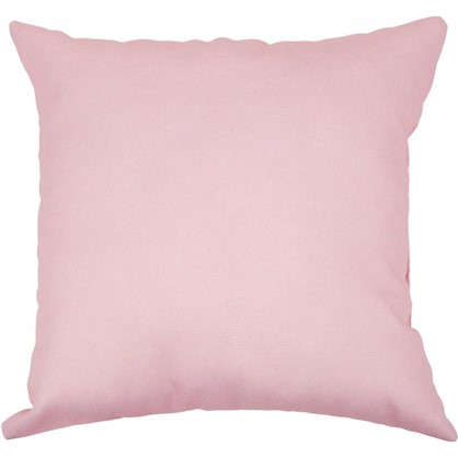 Подушка Шарм Пыльная роза 40х40 см цвет розовый цена
