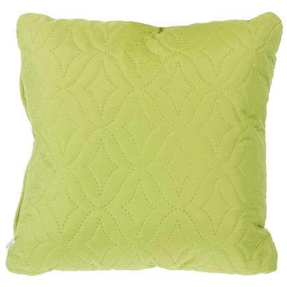 Подушка стеганая Melissa 40х40 см цвет зеленый цена