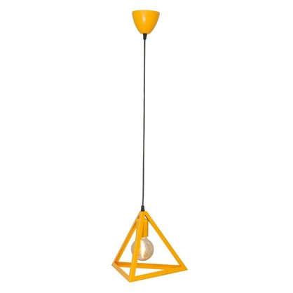 Подвес Пирамида 1хЕ27х40 Вт цвет желтый