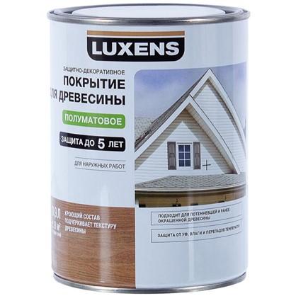 Покрытие для дерева Luxens кроющее цвет белый 0.9 л база 1