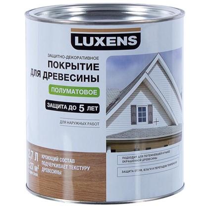 Покрытие для дерева Luxens кроющее цвет белый 2.7 л база 1
