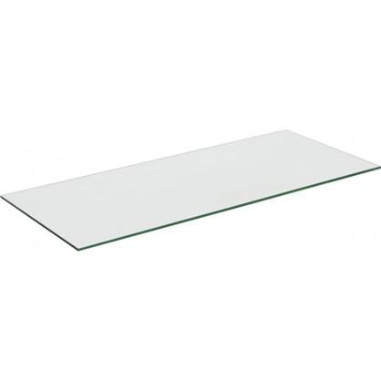 Полка 75.8x0.6x32 стекло цвет прозрачный цена
