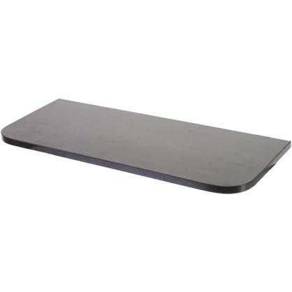 Полка мебельная с закругленными углами 600х250х16 ЛДСП цвет венге цена