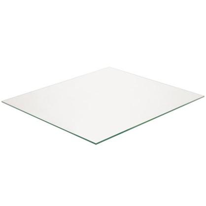 Полка прямоугольная 36.7х32 см прозрачное стекло цена