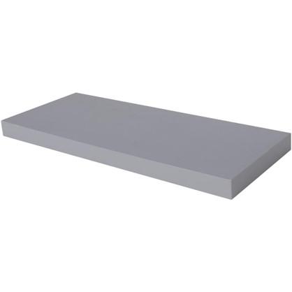 Полка прямоугольная 80х80 см МДФ сталь цвет серый цена