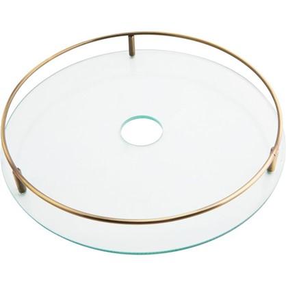 Полка стеклянная 350 мм цвет бронза цена