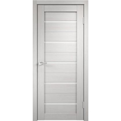 Полотно дверное Дюплекс 2000x800 мм цвет белёный дуб цена