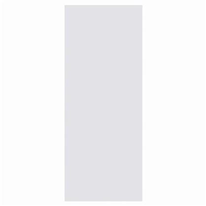 Полотно дверное глухое 80x200 см ламинация цвет белый