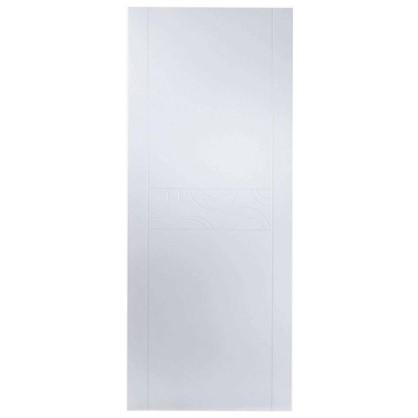 Полотно дверное глухое Аликанте 200х80 см цвет белый цена