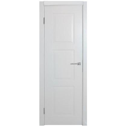 Полотно дверное глухое Британия 200х80 см цвет белый цена