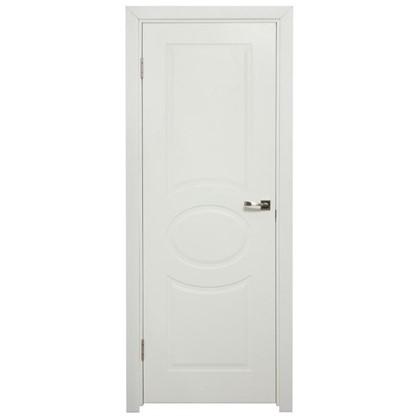 Полотно дверное глухое Дэлия 200х80 см цвет белый