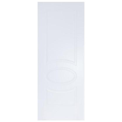 Полотно дверное глухое Дэлия 200х90 см цвет белый