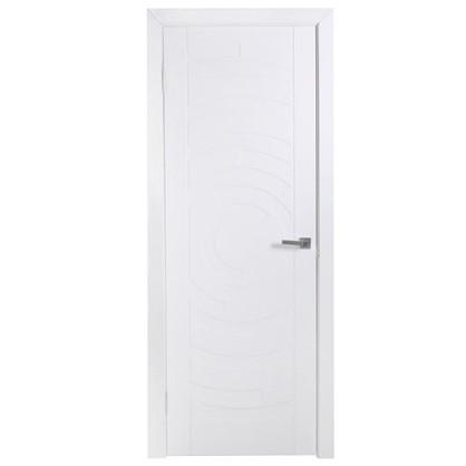Полотно дверное глухое Галактика 200х90 см цвет белый цена