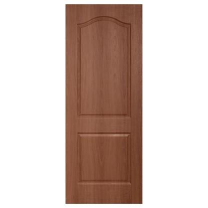 Полотно дверное глухое ламинированное Антик 200х60 см цвет итальянский орех