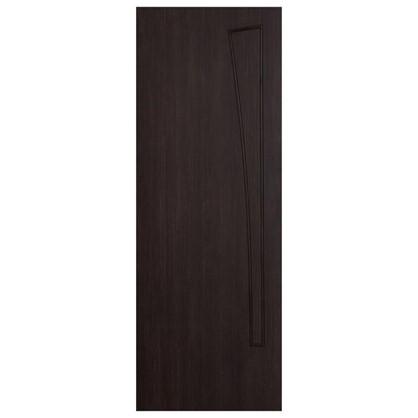 Полотно дверное глухое ламинированное Белеза 200х80 см цвет венге цена