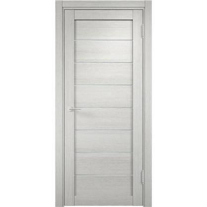 Полотно дверное глухое Мюнхен 80x200 см ламинация цвет слоновая кость 3D