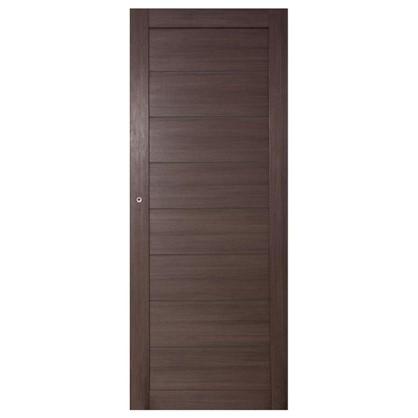 Полотно дверное глухое Ницца 90x200 см ПВХ цвет дуб неаполь с фурнитурой цена