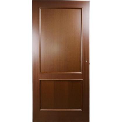 Полотно дверное глухое шпонированное Этерно 200x80 см цвет итальянский орех цена
