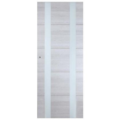 Полотно дверное остеклённое Artens Нолан 200х80 см цена