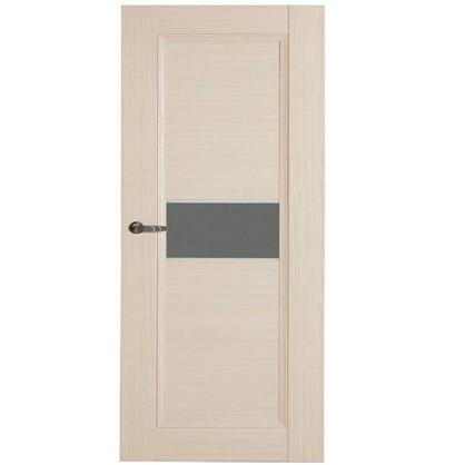 Полотно дверное остеклённое Конкорд cpl 200х70 см цвет выбеленый дуб цена