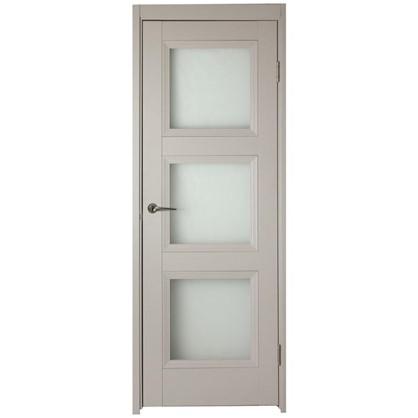 Полотно дверное остеклённое Трилло 200х70 см цвет ясень цена