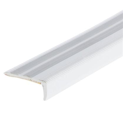 Порог угловой (угол) антискользящий 0.9 м цвет дуб белый цена